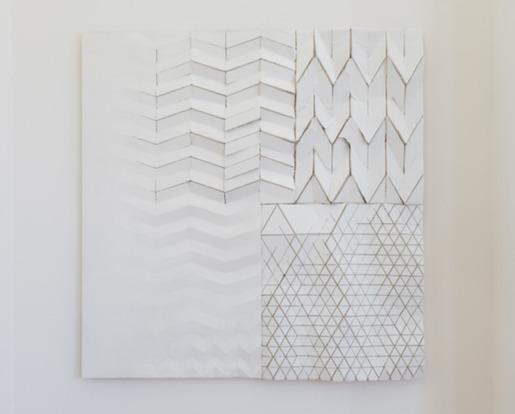 , 'Plasterboard Studies,' 2018, mariondecannière