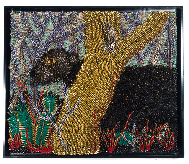 , 'Black Panther Prowling,' 2017, Adelson Galleries