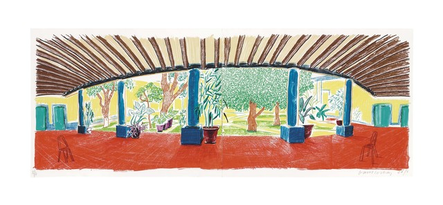 David Hockney, 'Hotel Acatlán: First Day, from Moving Focus', 1985, Christie's