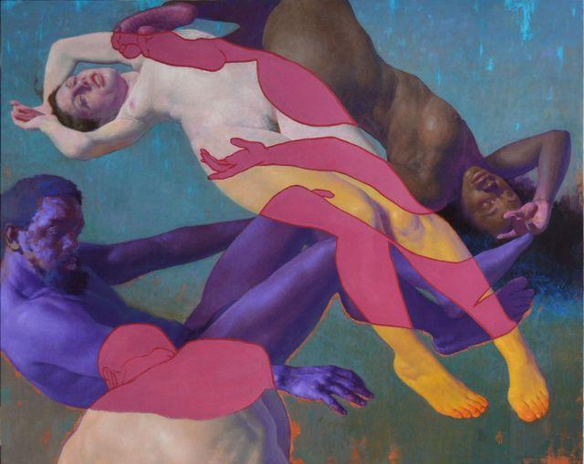 , 'Woman, Man, Black, White,' 2018, Stanek Gallery