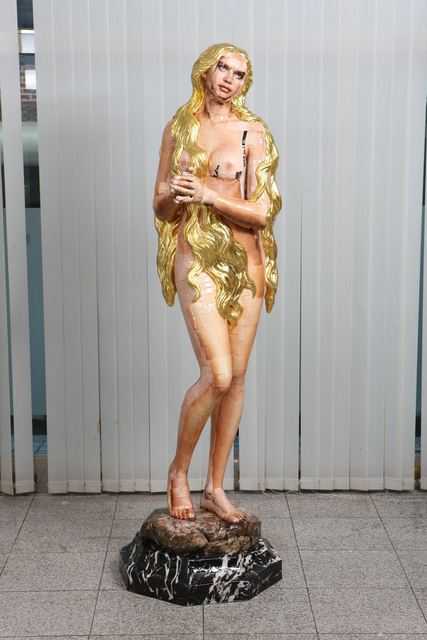 , 'Gilded Hair,' 2013, Arario Gallery