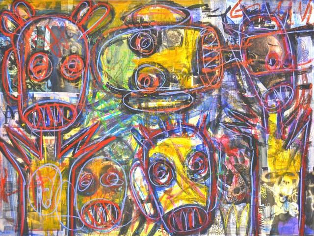 , 'Liberté, Égalité, Illuminés,' 2011, Ethan Cohen New York