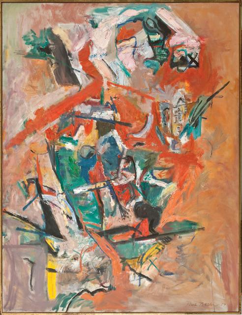 Paul Burlin, 'Said Couldn't Be Done', 1959, Vallarino Fine Art