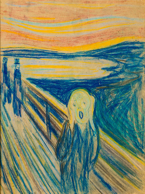 , 'The Scream,' 1893-1910, Van Gogh Museum