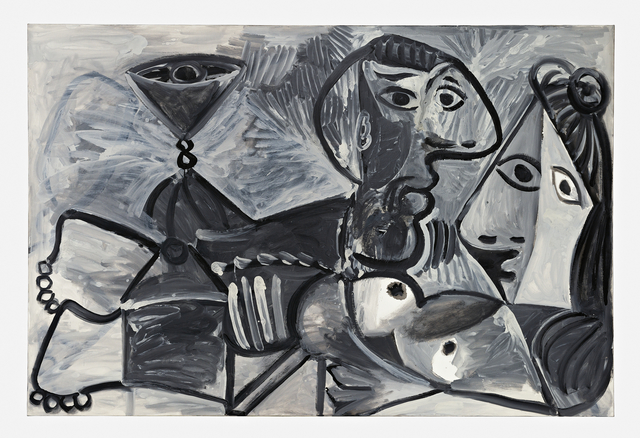 , 'Couple with Cup,' December 29-1969, Pace Gallery