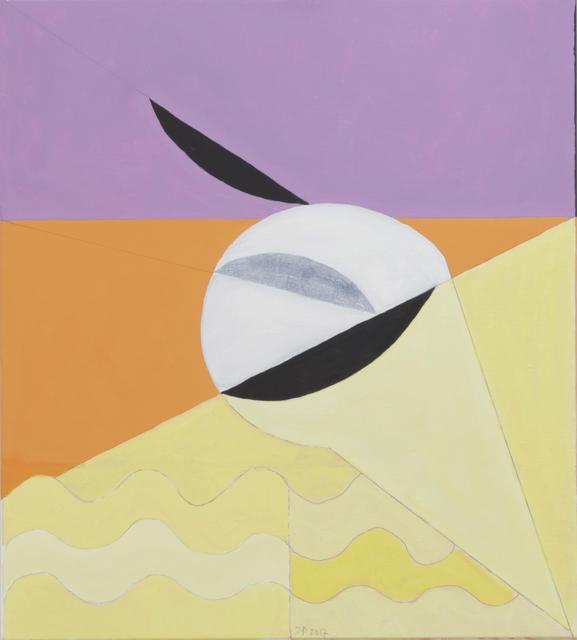 , '100/32 Giuseppe Ungaretti Carme. (Flüchtige Federn) (Nr. 7),' 2017, Häusler Contemporary