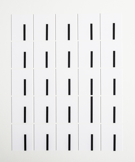 , 'Grid 21,' 2018, Kopeikin Gallery