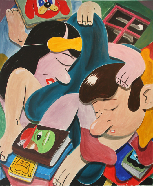 HuskMitNavn, 'Untitled (Man and Woman in Bed)', 2012, ALICE Gallery