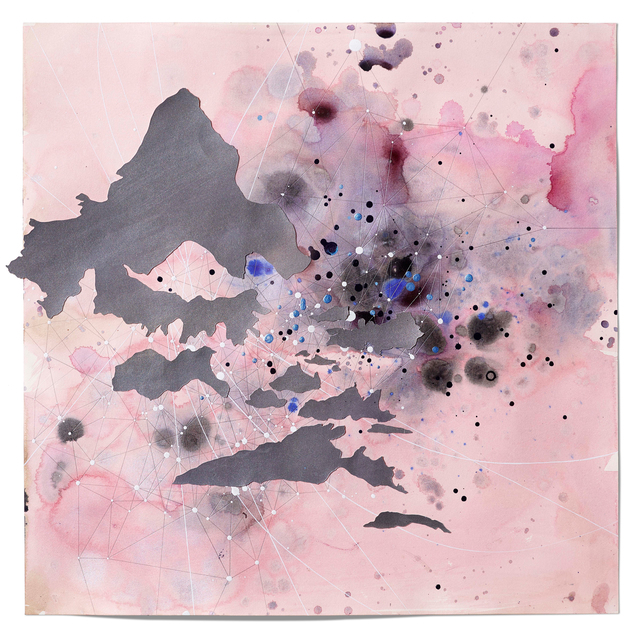 Val Britton, 'Map of Stars', 2015, Headlands Center for the Arts: Benefit Auction 2017