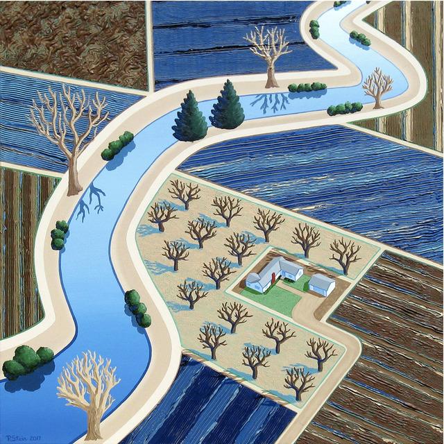 Richard Stein, 'The Seasons Fields - Winter', Tim Collom Gallery