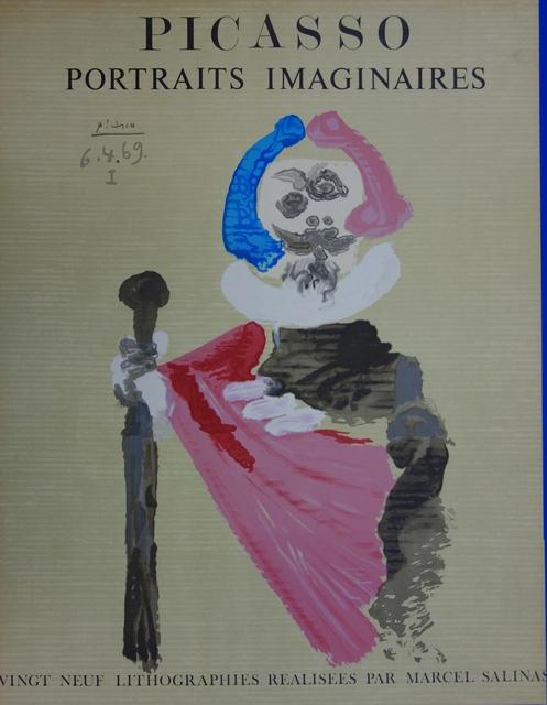 Pablo Picasso, 'Imaginary Portrait, The Bâtonnier', 1971, Plazzart
