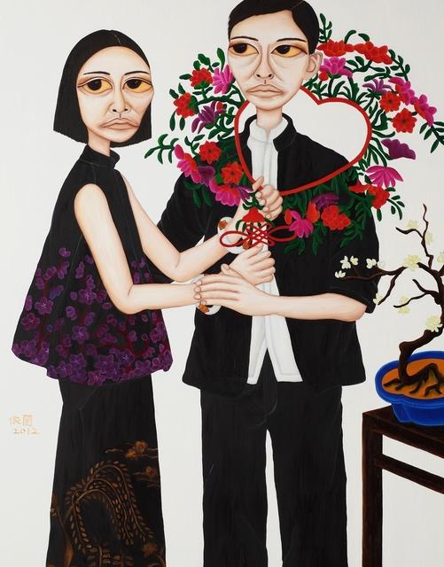 Liu Yi-Lan 柳依蘭, 'Portrait of Beauties - Taming Husband', 2012, Galerie Grand Siecle