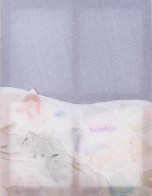 Fay Shin, 'Waltz for Quartz 2', 2019, Painting, Man suit, silk, watercolour, gouache, silk thread, GALLERY SU: