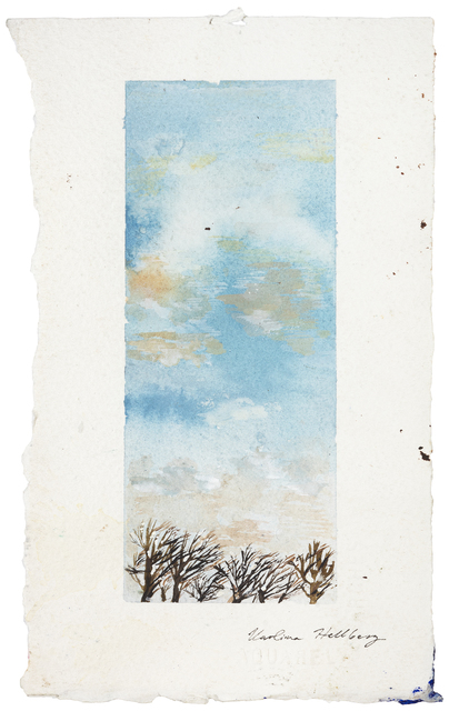 , 'Talvinen taivas (Wintery sky),' 2016, Galerie Anhava