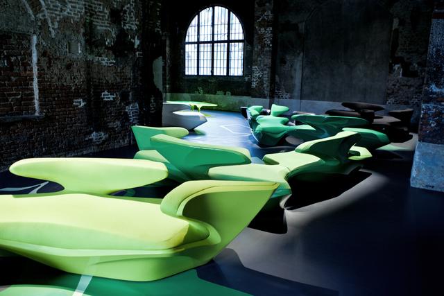 , 'Zephyr Sofa - Black,' 2009, Zaha Hadid