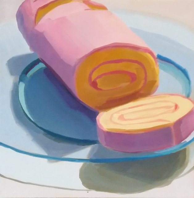 Yuri Tayshete, 'Pink Roll Cake', 2018, 440 Gallery
