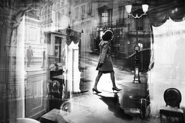 , 'Crossing Paris,' 2019, dnj Gallery