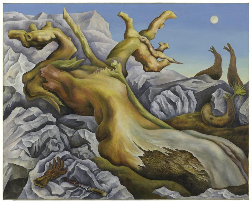 Diego Rivera Symbolic Landscape 1940 Artsy