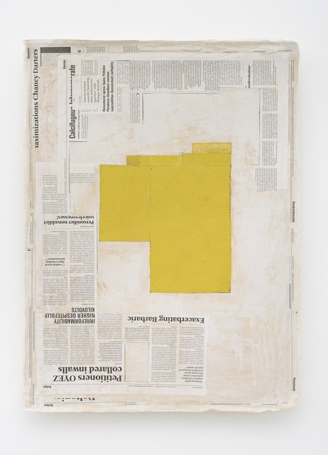 Mark Manders, 'Composition with Yellow', Zeno X Gallery