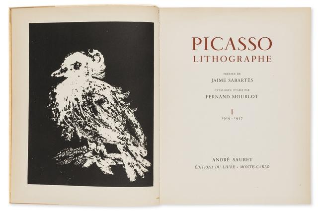Pablo Picasso, 'Lithographie I-IV (Cramer 55, 60, 77, 125)', 1949-1964, Forum Auctions