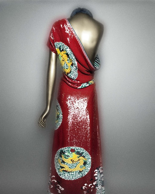 , 'Evening dress (Tom Ford for Yves Saint Laurent),' Fall/winter 2004–5, The Metropolitan Museum of Art