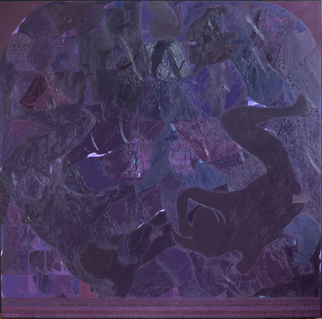 , 'Square Painting 4,' 2016, Galerie Kornfeld
