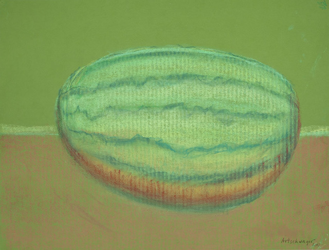, 'Watermelon on Green Paper,' 2011, David Nolan Gallery