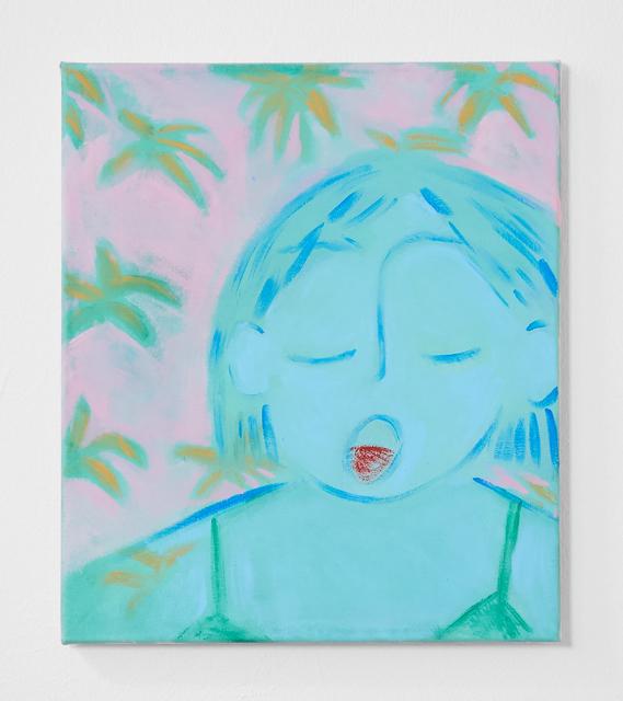 , 'Blue Garden,' 2018, V1 Gallery