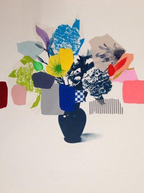 , 'Paper Bouquet (blue hydrangea),' 2017, Rebecca Hossack Art Gallery