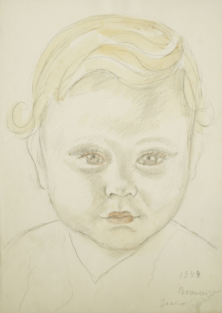 Marie Vorobieff Marevna, 'Sketch book with portraits of young children and a still life', c. 1942, Roseberys