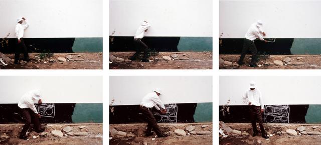 Robin Rhode, 'Master Blaster', 2004, Photography, C-prints, Stevenson