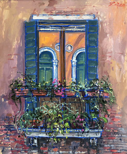 , 'Arched Windows, Venice,' 2018, Galerie d'Orsay