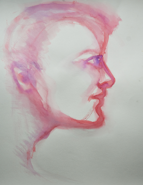 Alexandra Bregman, 'Man's Face in Pink', 2018, MvVO ART