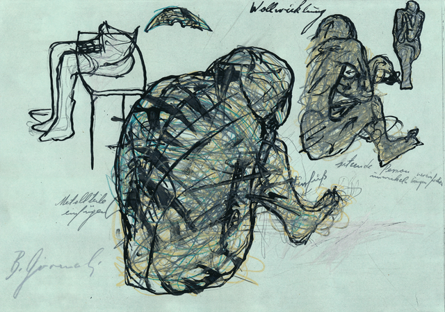 , 'Wollwicklung,' ca. 1970, Galerie Elisabeth & Klaus Thoman