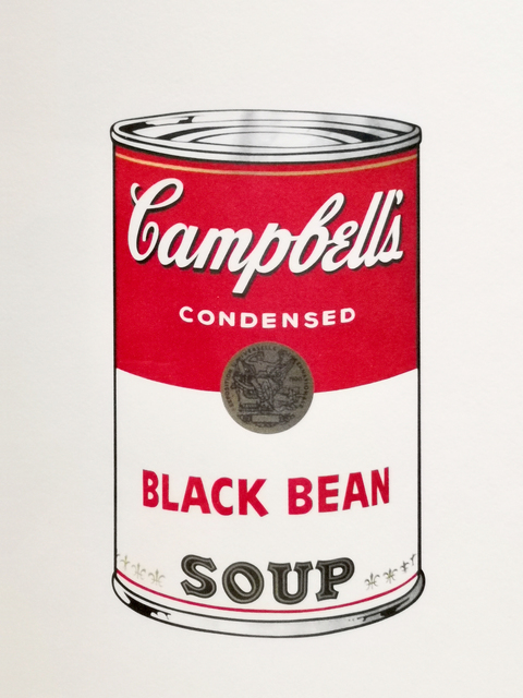 Andy Warhol, 'Black Bean Soup', 1970, NextStreet Gallery