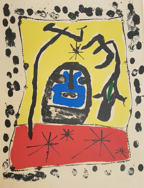 Joan Miró, 'Exhibition at the Galerie Matarasso, Nice', 1957, Hidden