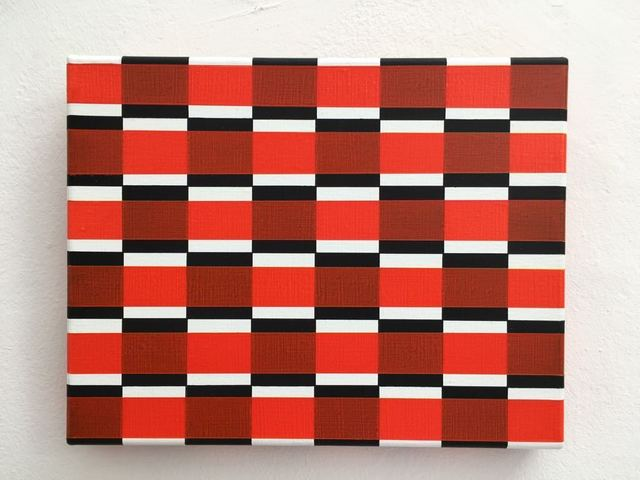 Roland Helmer, 'G308 Rot, rot II ', 2010, Painting, Acrylic and vinyl on canvas, Heitsch Gallery