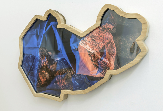Kalee Appleton, 'High Mountains (Blue & Orange)', 2017, Foto Relevance