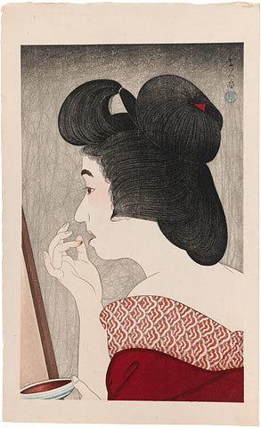 , 'Lip Rouge,' 1932, Scholten Japanese Art