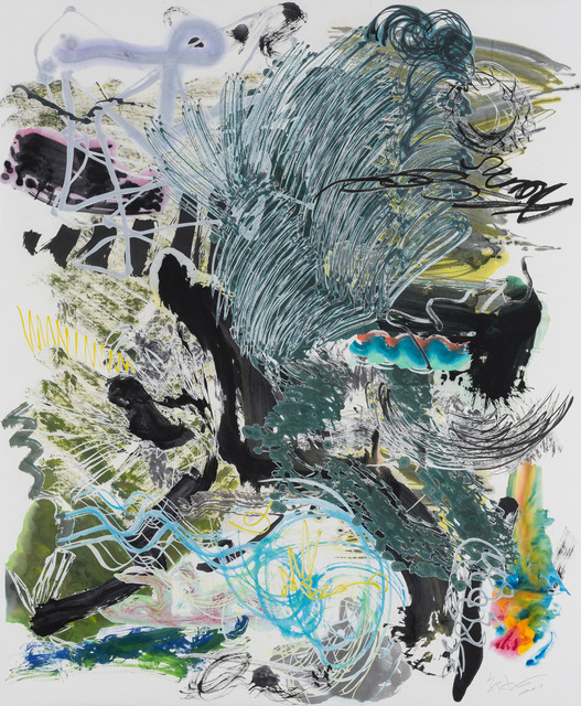 , '500 Brushstrokes #46 五百笔 #46,' 2018, Chambers Fine Art