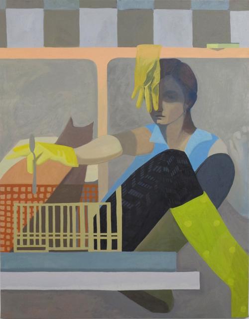 , 'The Spoon,' 2017, Nancy Margolis Gallery