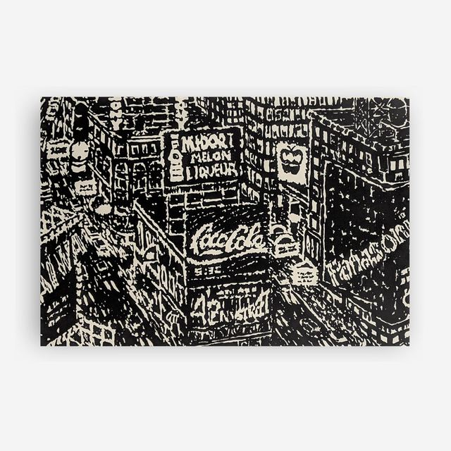 Yvonne Jacquette, '42nd Street', 1987, Capsule Gallery Auction