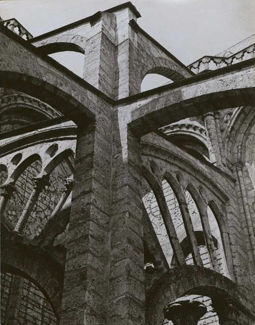 , 'Chartres - Flying Buttresses at the Crossing,' 1929, Edwynn Houk Gallery