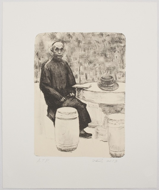 , 'Grandfather's Mountain: The Stone Table,' 2013, Tamarind Institute