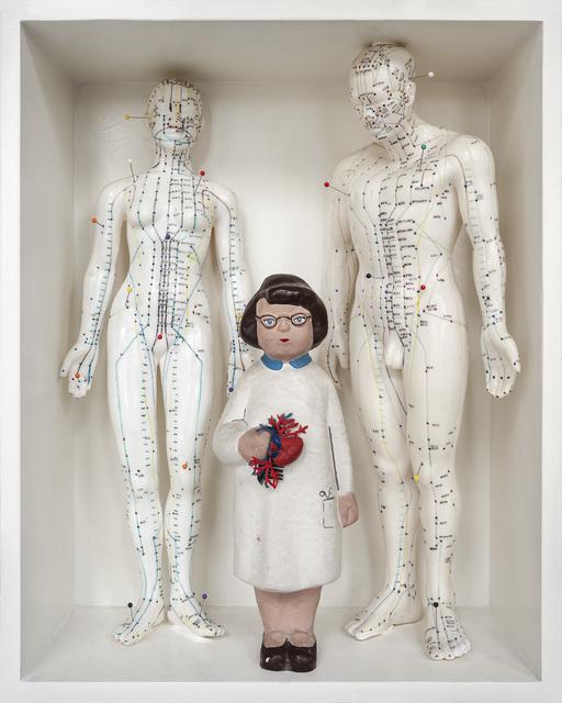 , 'Acupunctural Heart,' 2019, Van Bavink Gallery