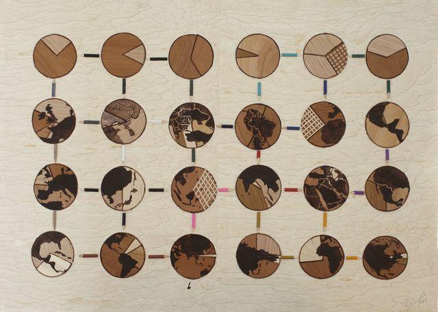 , 'Nacionalidades mezcladas,' 2013, Michel Soskine Inc.