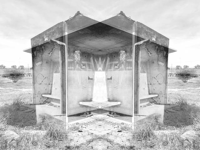 , 'Bus shelter I,' 2019, Black Box Publishing