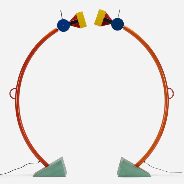 Ettore Sottsass, 'Treetops floor lamps, pair', 1981, Wright