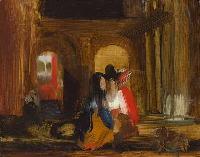 , 'Walking, (after Pieter de Hooch),' 2015, Cynthia Corbett Gallery