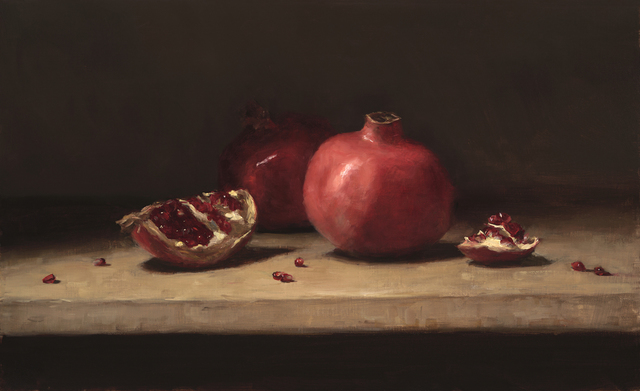 , 'Pomegranates on a Table,' 2015, Grenning Gallery